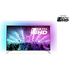more details on Philips 55PUS7101 55 Inch 4K Ultra HD Ambilight-3 Smart TV.