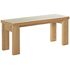 more details on HOME Wentworth 110cm Bench - Oak.