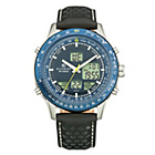 more details on Accurist Men's Blue Dial Analogue Digital Watch.