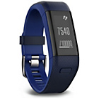 more details on Garmin Vivosmart HR+ GPS Activity Tracker, Blue - Regular.