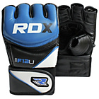 more details on RDX Synthetic Leather MMA Gloves Blue - Large/Extra Large