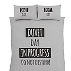 more details on Catherine Lansfield Duvet Day Duvet Cover Set - Double.