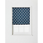 more details on Collection Trellis Roller Blind - 4ft - Indigo.
