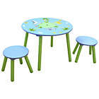 more details on Liberty Houe Safari Nursery Table and 2 Stool Set.