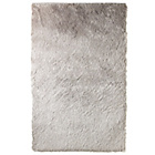 more details on Collection Silky Deep Pile Rug - Silver.