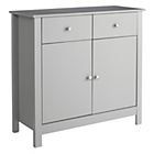 more details on Collection Osaka 2 Door 2 Drawer Sideboard - Grey.