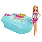 more details on Barbie Swimming Pup Pool.