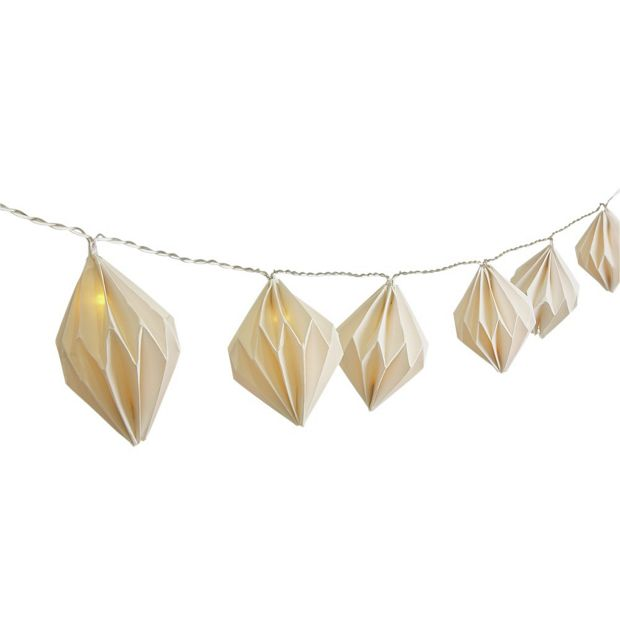 Buy Collection White Paper Lantern String Lights - Set of 20 at Argos.co.uk - Your Online Shop ...