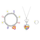 more details on Disney Princess Necklace, Bracelet and Ring Set.