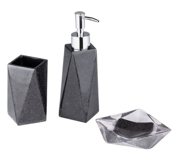 Argos black bathroom accessories house decor ideas for Bathroom accessories argos