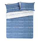 more details on HOME Sticks Blue and White Bedding Set - Double.