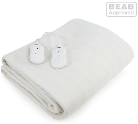 buy pifco fitted electric blanket double at. Black Bedroom Furniture Sets. Home Design Ideas