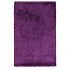 more details on Collection Silky Deep Pile Rug - Plum.