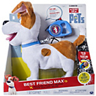 more details on Secret Life Of Pets Real Walking Pet Max.