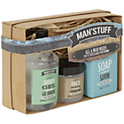 more details on Man'stuff All A Man Needs Gift Set.