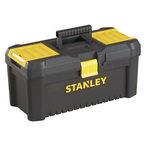 buy stanley 16 inch essential tool box at. Black Bedroom Furniture Sets. Home Design Ideas