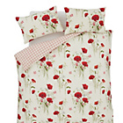 more details on Catherine Lansfield Wild Poppies Duvet Cover Set - Kingsize.