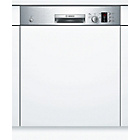 more details on Bosch SMI50C15GB Full Size Integrated Dishwasher - Silver.