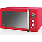 more details on Swan SM22080RN Combination Microwave - Red.