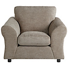 more details on HOME New Clara Fabric Chair - Mink.