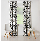 more details on ColourMatch Rotary Unlined Eyelet Curtain - 168x183cm - Geo.