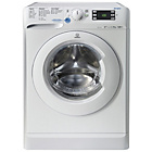 more details on Indesit XWE101683W 10KG 1600 Spin Washing Machine - White.