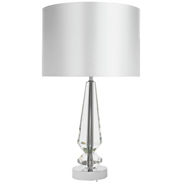 Buy Heart Of House Ronde Crystal Table Lamp Chrome At