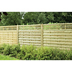 more details on Forest 1.8m Kyoto Fence Panel - Pack of 7.