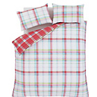 more details on Catherine Lansfield St Ives Check Duvet Cover Set - Double.
