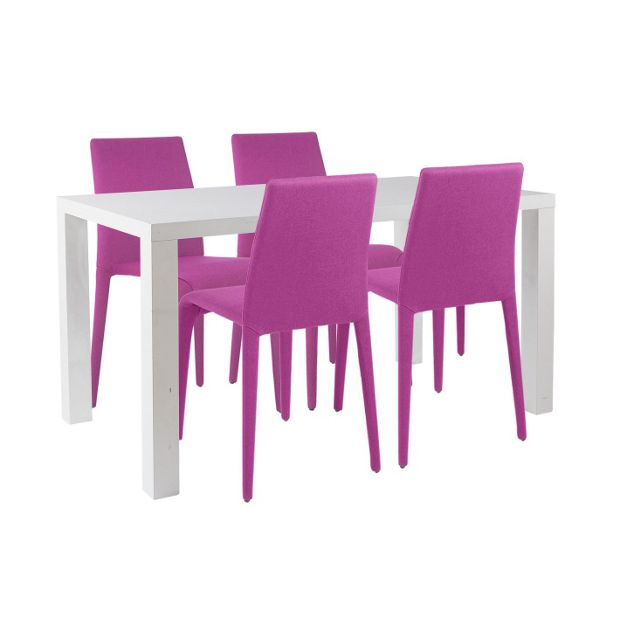Argos White Garden Table And Chairs: Buy Hygena Lyssa Table And 4 Chairs