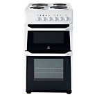 Indesit IT50EWS Electric Cooker - White