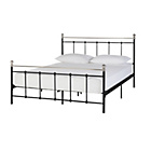 more details on Collection Eversholt Small Double Bed Frame - Black.
