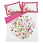 more details on Catherine Lansfield Bright Floral Duvet Cover Set - Kingsize