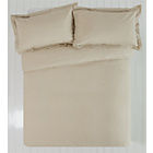more details on Heart of House Pebble Non Iron Percale Bedding Set - Double.