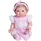 more details on Chad Valley Tiny Treasures Newborn Open Eye Girl Doll.