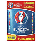 more details on Euro 2016 Sticker Starter pack with 31 Stickers.