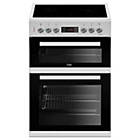 more details on Beko KDC653W Electric Cooker - White.