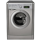 more details on Indesit IWDE7125S UK Washer Dryer - Silver.