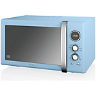 more details on Swan SM22080BLN Combination Microwave - Blue.