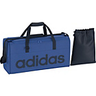 more details on Adidas Linea Blue Medium Holdall and Gymsack.