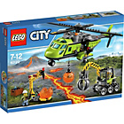 more details on LEGO City Volcano Supply Helicopter - 60123.