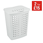 more details on ColourMatch Laundry Hamper - Super White.