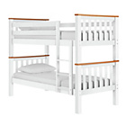 more details on Heavy Duty Bunk Bed Frame - White and Pine.