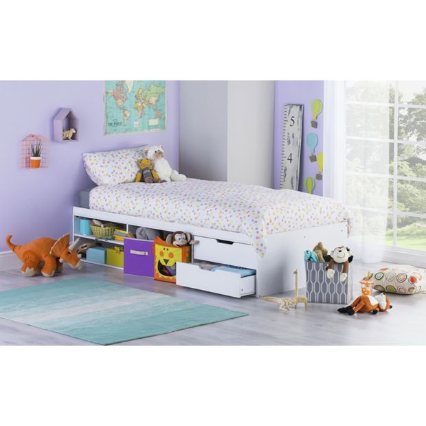 Can You Buy Ashley Furniture Online: Buy Callum Cabin Bed With Pull Out Desk & Ashley Mattress