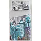 more details on HOME Neon New York Skyline Bedding Set - Single.