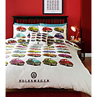 more details on Volkswagen Beetles Multicoloured Bedding Set - Single.