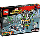 more details on LEGO Super Heroes Spider-Man: Doc Ock's Tentacle Trap-76059.