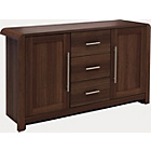 more details on Heart of House Elford 3 Drawer Sideboard - Walnut Effect.