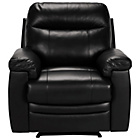 more details on Collection Paolo Riser Recliner Leather Chair - Black.