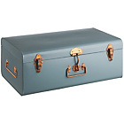 more details on Habitat Large Trunk with Copper Claps - Blue.